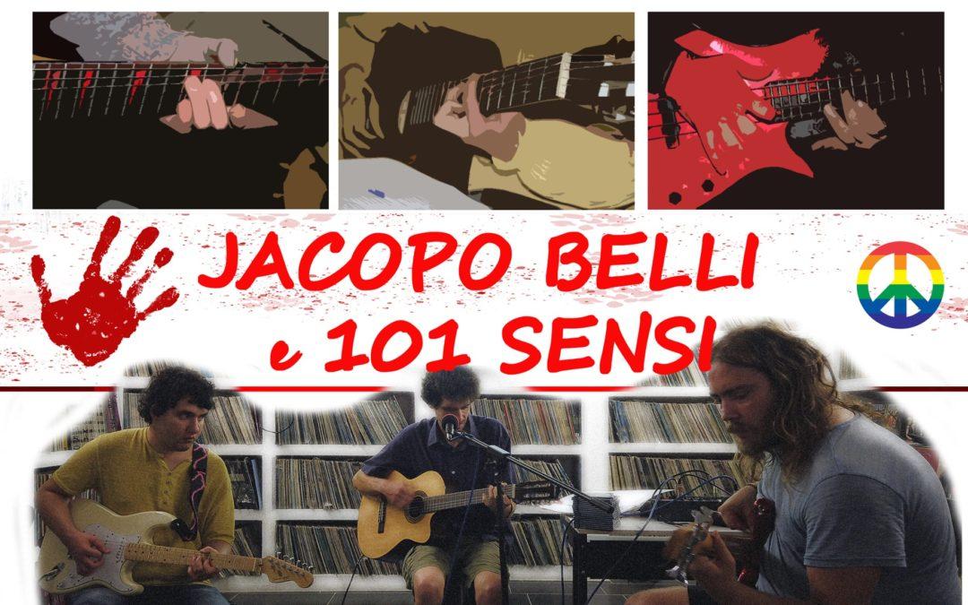 ARTISTI PER LE PIAGGE – Jacopo Belli e i 101Sensi