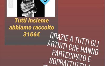 Asta #unitisiamoumani: GRAZIE A TUTTE E TUTTI!!