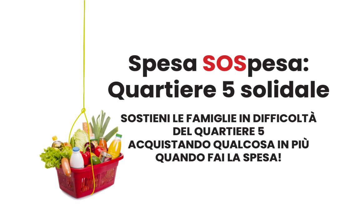 Spesa SOSpesa: quartiere 5 solidale