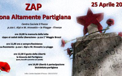 ZAP 2021 – Zona Altamente Partigiana – Libertà è partecipazione